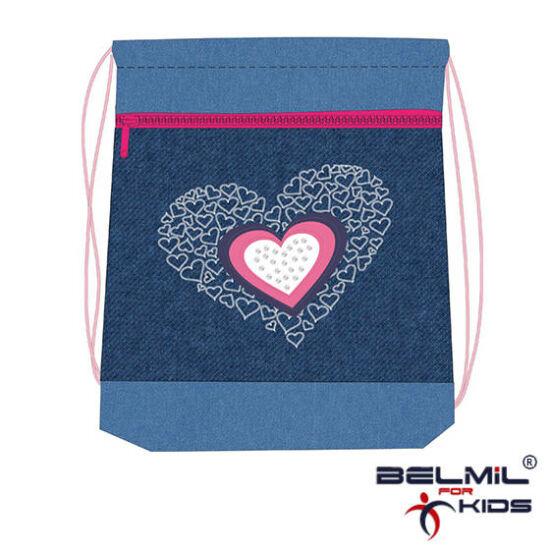 Belmil tornazsák hálós és zsebes, Love 2