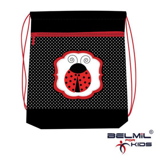 Belmil tornazsák hálós és zsebes, Miss Ladybug 2