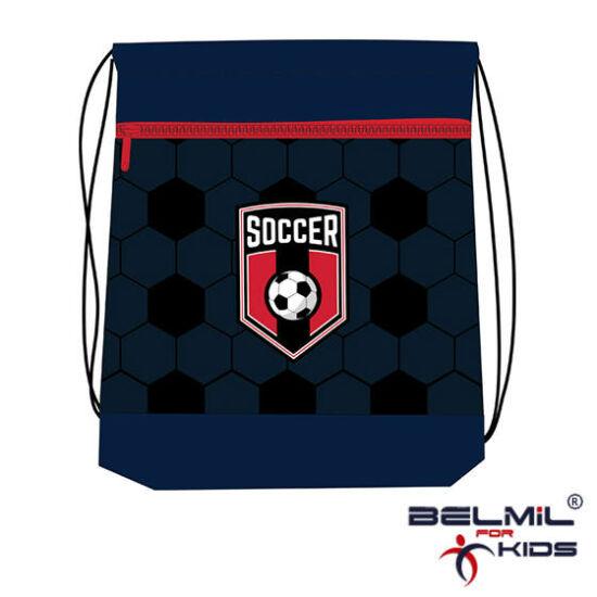 Belmil tornazsák hálós és zsebes, Soccer Game