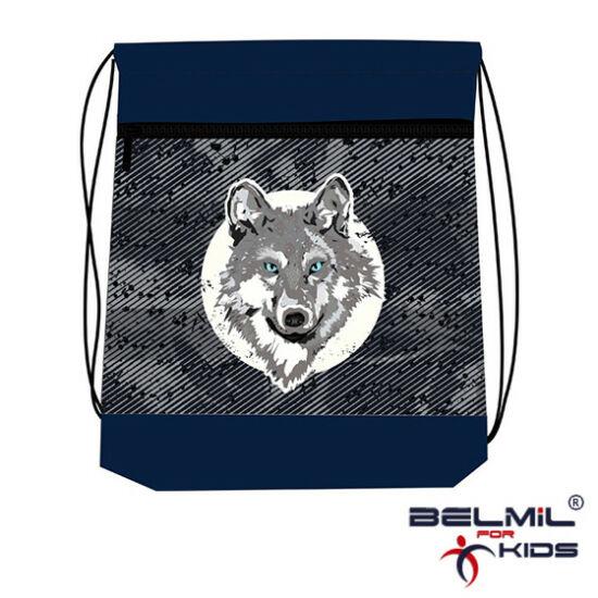Belmil tornazsák hálós és zsebes, The Grey Wolf