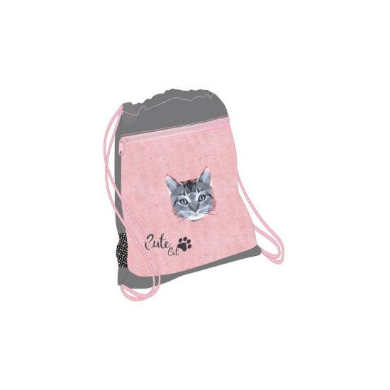 Belmil tornazsák hálós és zsebes, Cute Cat