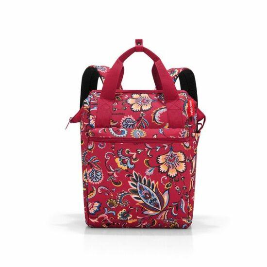 Reisenthel Allrounder R hátizsák, paisley ruby