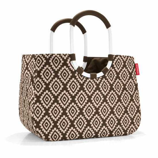 Reisenthel Loopshopper L, diamonds mocha