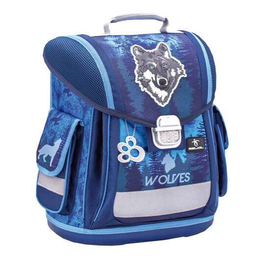 Belmil Sporty merev falú iskolatáska, Mountain Wolf
