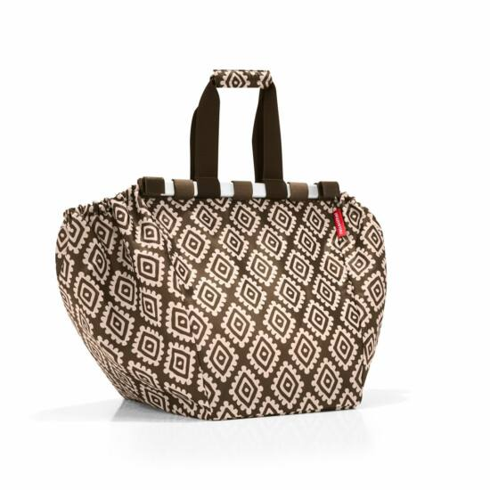 Reisenthel Easyshoppingbag, diamonds mocha