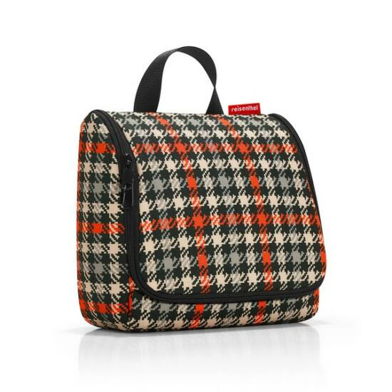 Reisenthel Toiletbag, glencheck red
