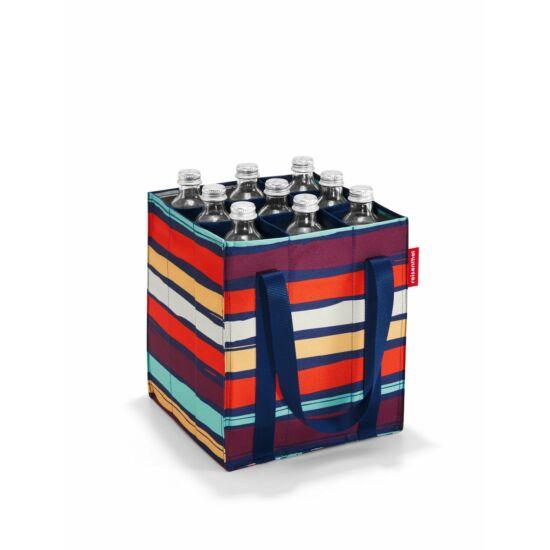 Reisenthel Bottlebag üvegtartó, artist stripes