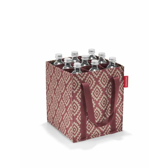 Reisenthel Bottlebag üvegtartó, diamonds rouge