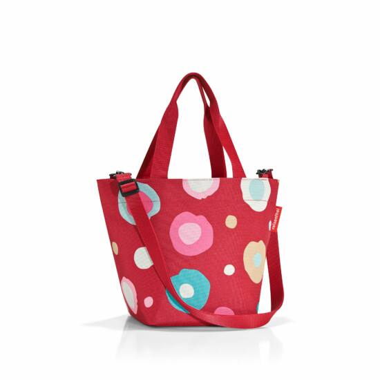 Reisenthel Shopper XS,funky dots 2/piros