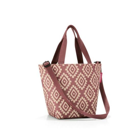 Reisenthel Shopper XS, diamonds rouge