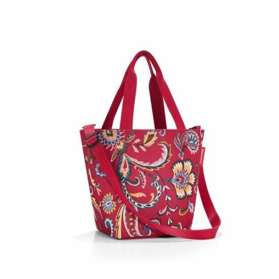 Reisenthel Shopper XS, paisley ruby