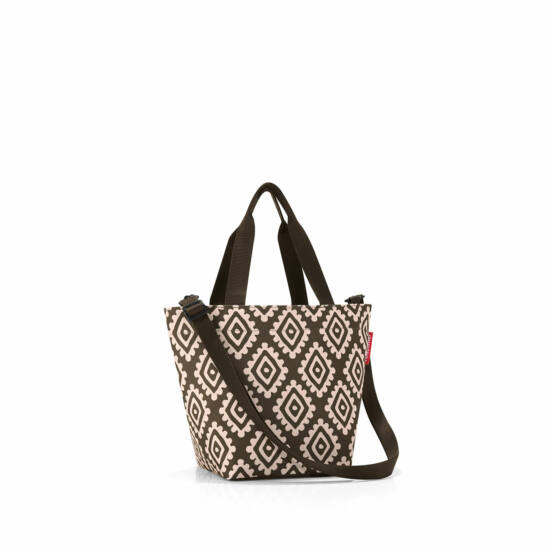 Reisenthel Shopper XS, diamonds mocha