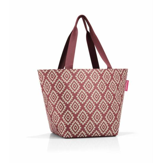 Reisenthel Shopper M, diamonds rouge