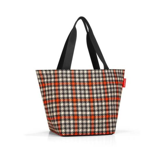 Reisenthel Shopper M,  glencheck red