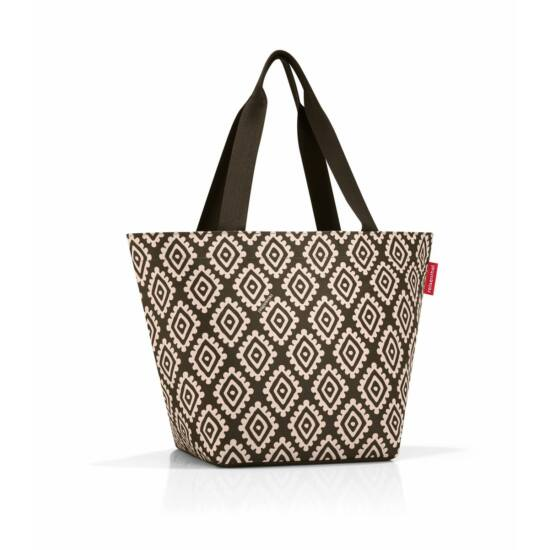 Reisenthel Shopper M, diamonds mocha