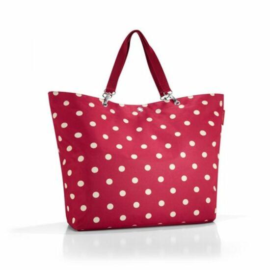 Reisenthel Shopper XL, piros pötty