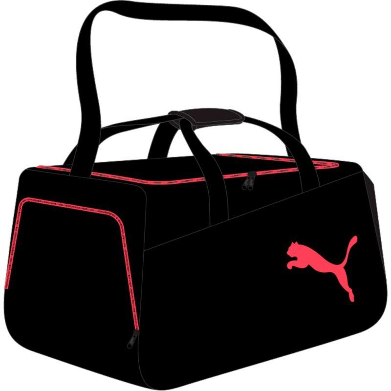 Puma sporttáska, Intersport Core Small, fekete-korall