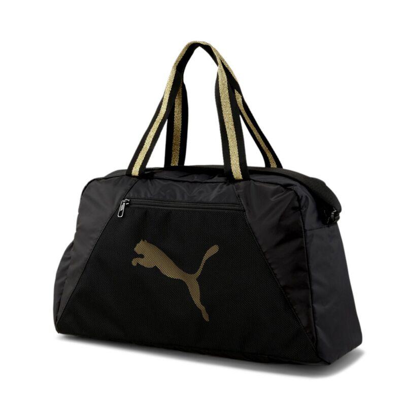 Puma sporttáska, AT ESS GRIP BAG, fekete-arany