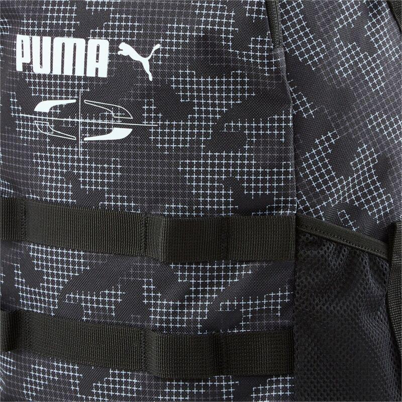 Puma Style hátizsák, fekete-mintás