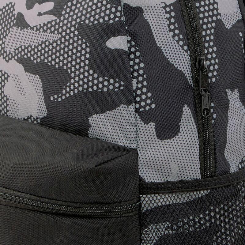 Puma Phase AOP hátizsák, fekete-szürke