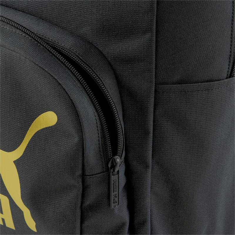 Puma Originals Urban hátizsák, fekete-arany