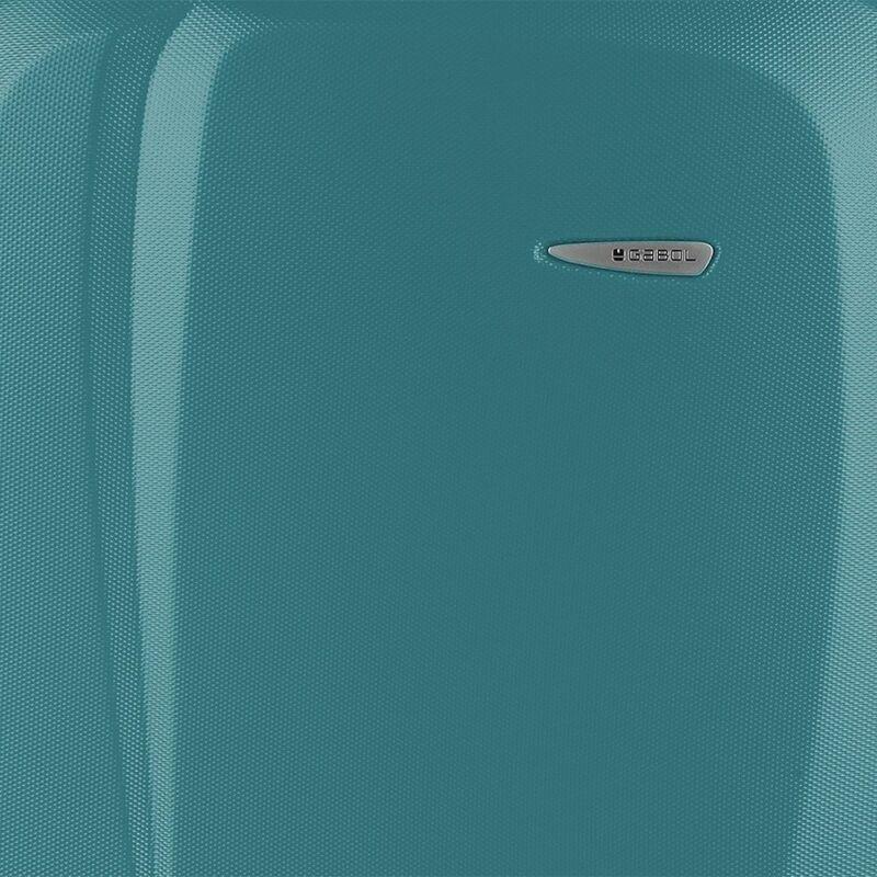 Gabol LINE 4-kerekes keményfedeles kabinbőrönd S, türkiz