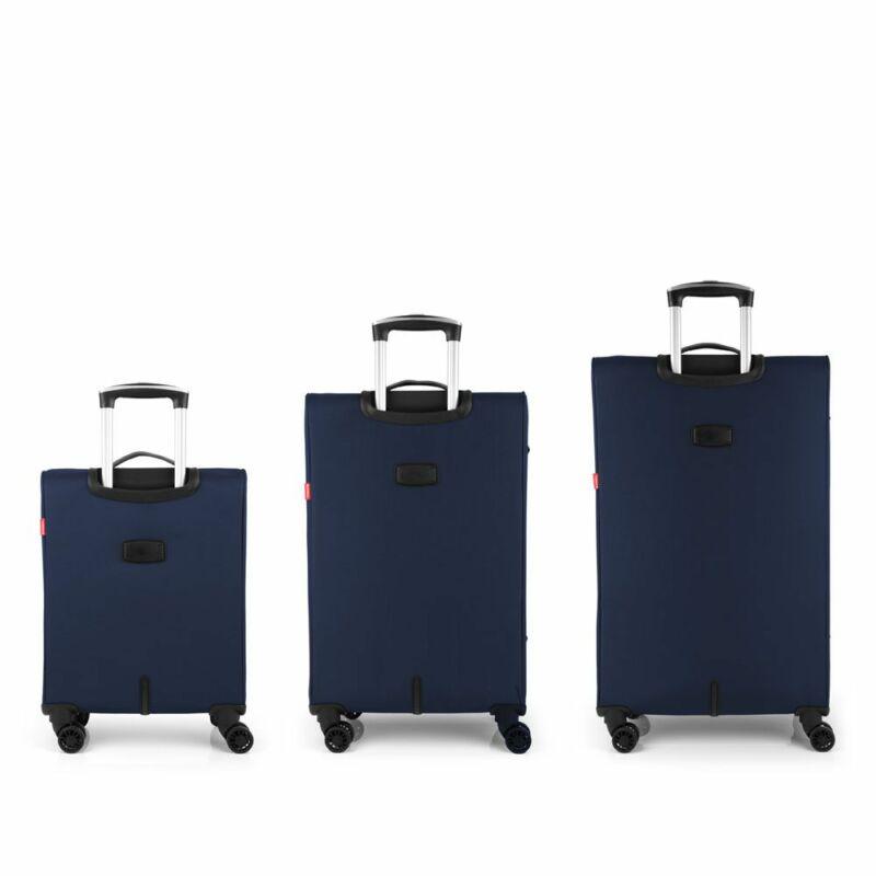 Gabol ZAMBIA 4-kerekes bőrönd szett, sötétkék