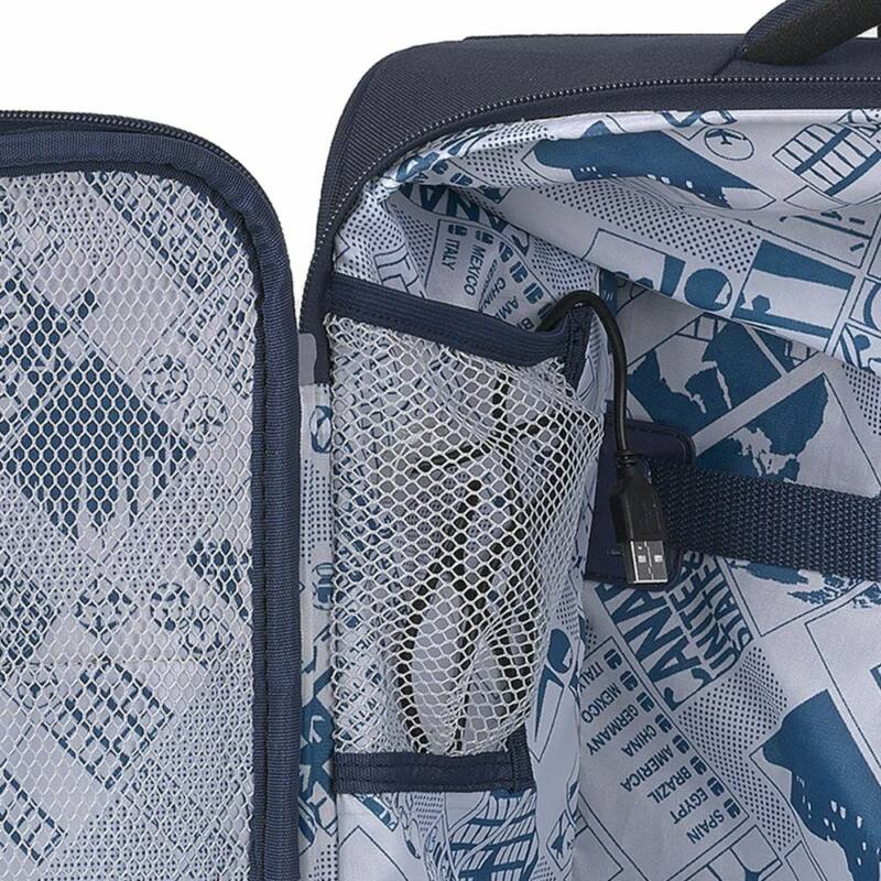 Gabol NORDIC 4-kerekes bőrönd szett, fekete