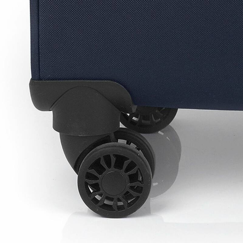 Gabol NORDIC 4-kerekes bővíthető bőrönd M, sötétkék