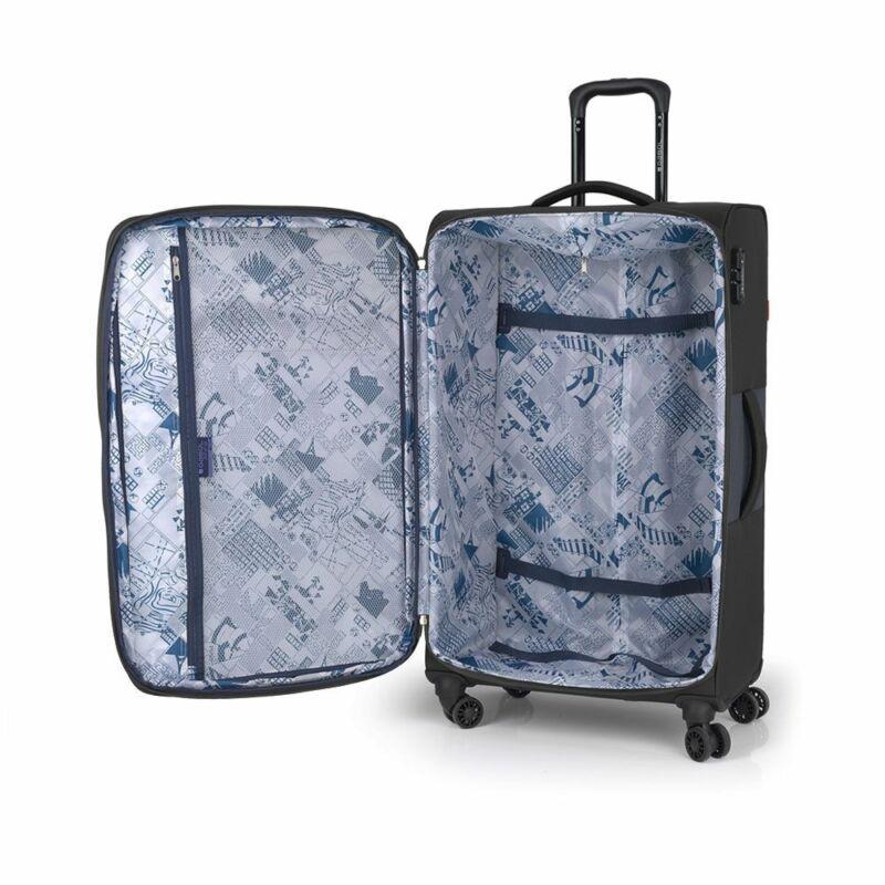 Gabol NORDIC 4-kerekes bővíthető bőrönd L, bordó