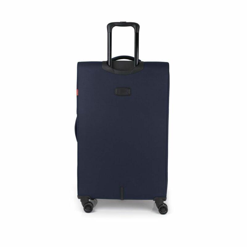 Gabol NORDIC 4-kerekes bővíthető bőrönd L, sötétkék