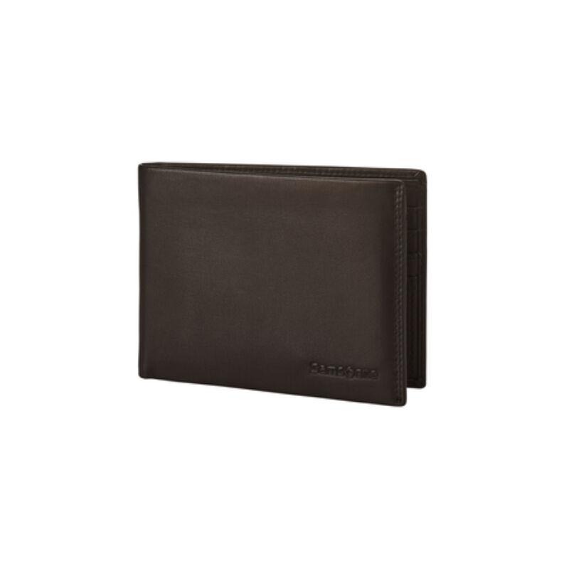 Samsonite bőr pénztárca ATTACK 2 SLG, barna