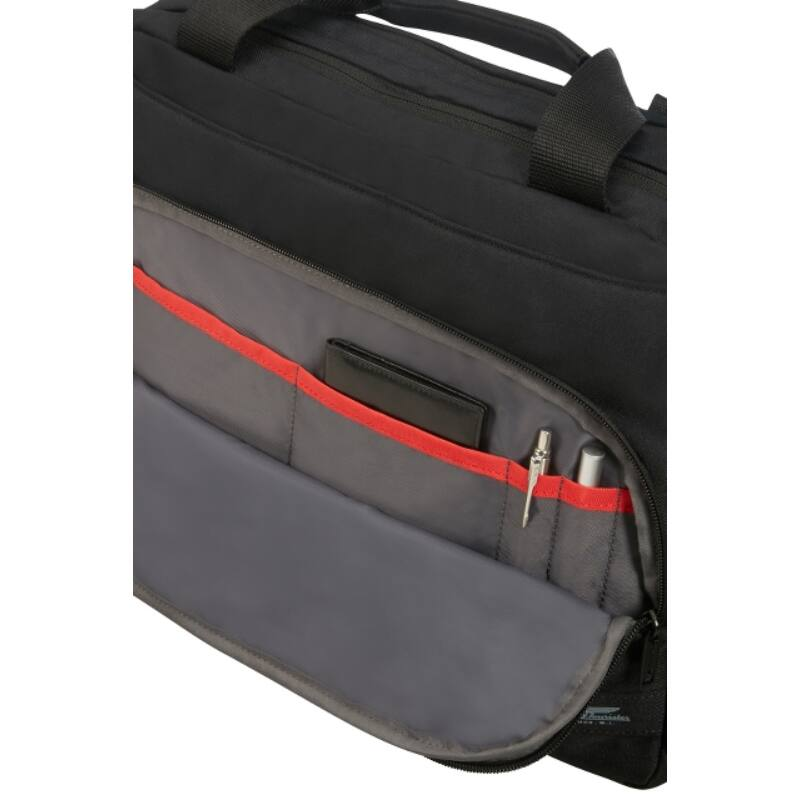 "American Tourister CITY AIM laptoptáska 15,6"", fekete"