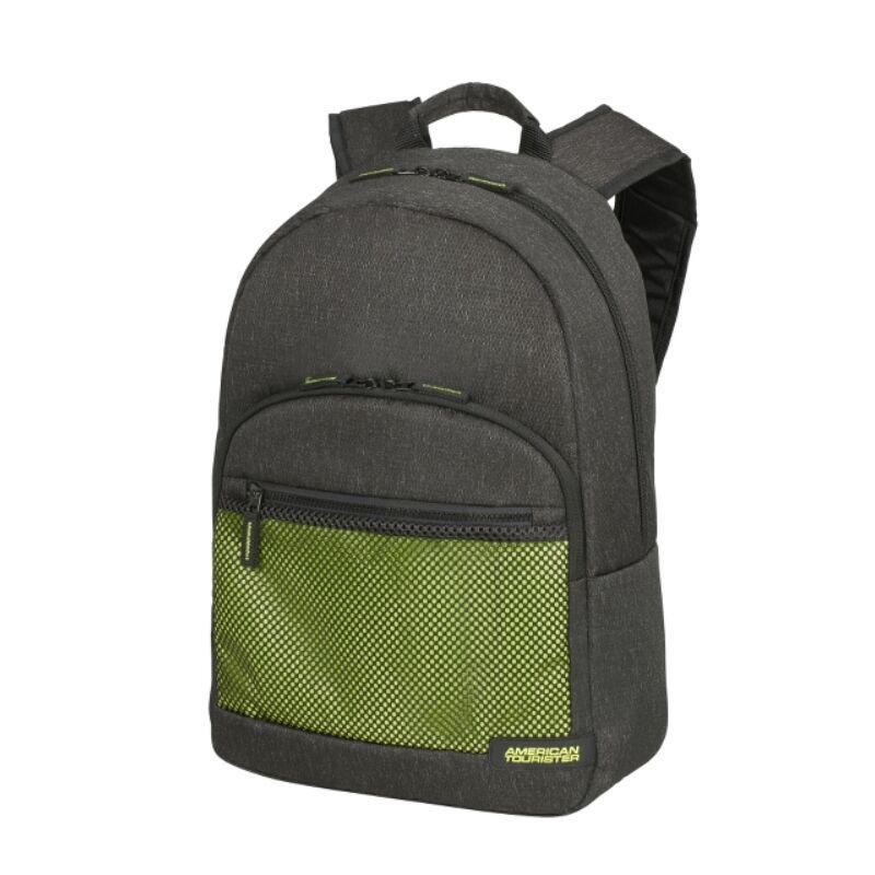 """American Tourister SPORTY MESH laptop hátitáska 15,6"""", antracit szürke- lime zöld"""