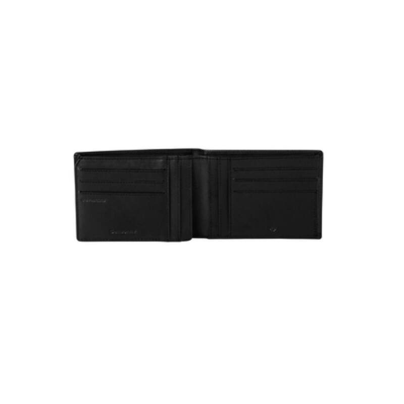 Samsonite bőr pénztárca ATTACK 2 SLG, fekete