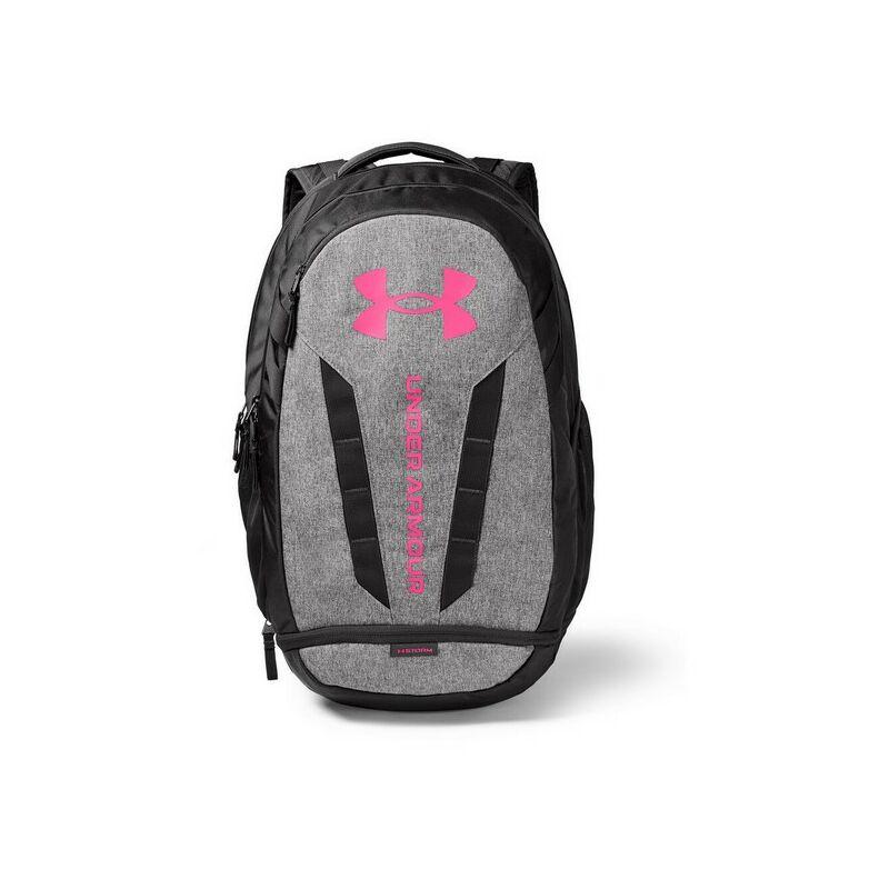Under Armour UA Hustle 5.0 hátizsák, szürke-pink