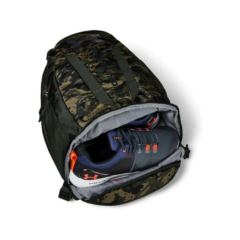 Under Armour UA Hustle 5.0 hátizsák, terep mintás