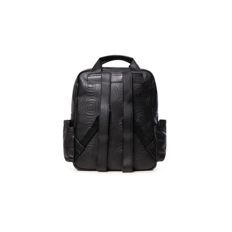 Desigual női divat hátizsák, Back Fluor Randers, fekete