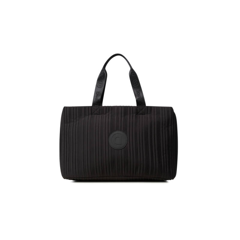 Desigual női divattáska, Duffle Bag Pleats M, fekete