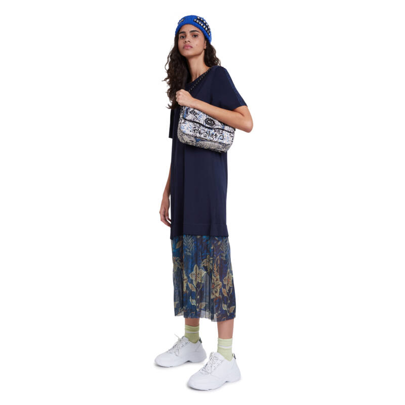 Desigual női divattáska, Bols Blue Forest Amorgos
