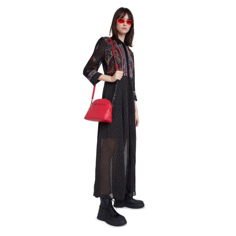 Desigual női divattáska, Bols Colorama Deia, piros