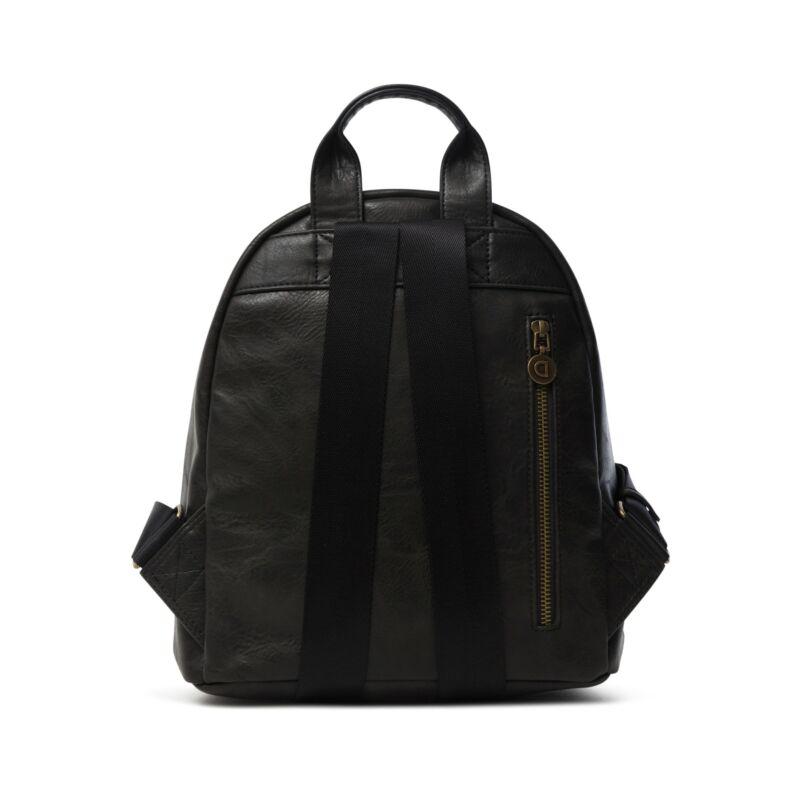 Desigual női divat hátizsák, Back Carlina Nazca Mini, fekete