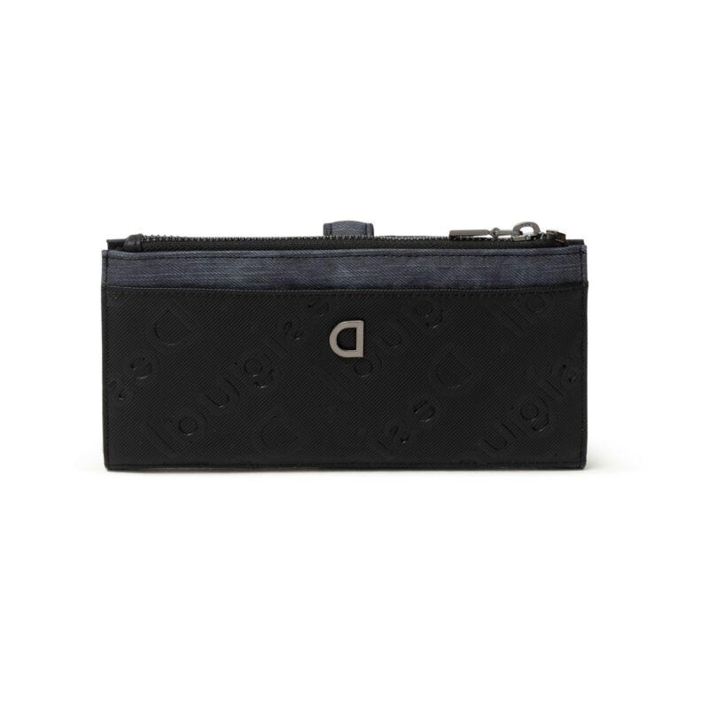 Desigual női pénztárca, Mone Opera Pia, fekete-kék