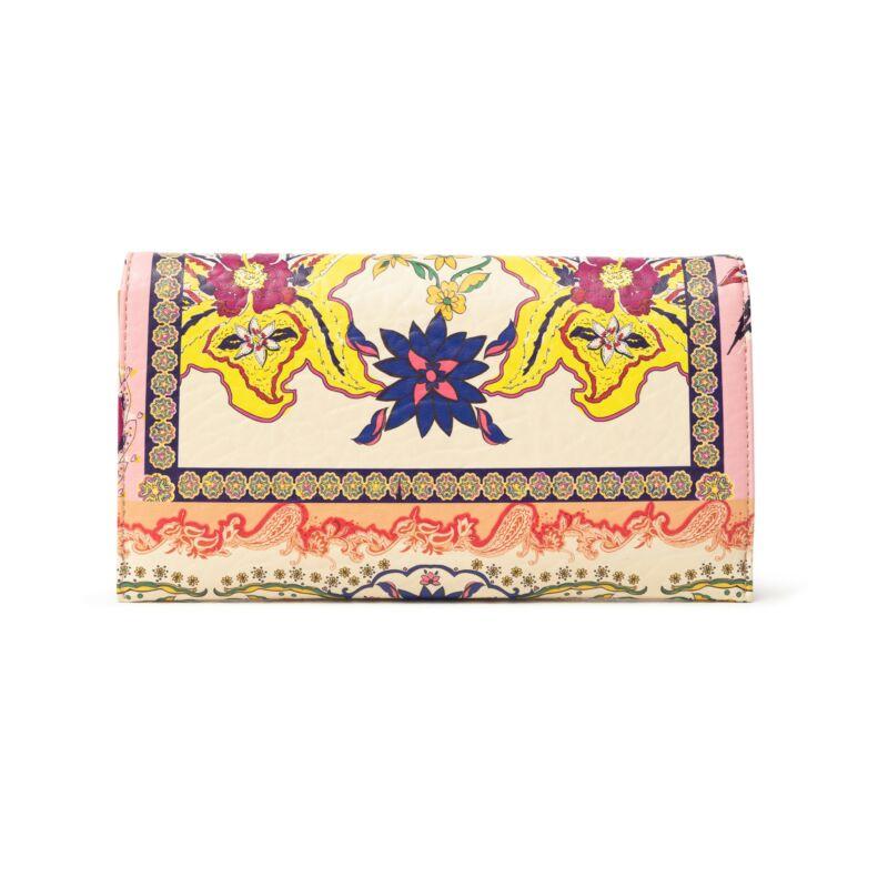 Desigual női pénztárca / kis táska, Mone Pink Boho Carmina