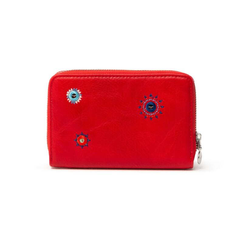 Desigual női pénztárca, Mone July Denim Marisa, piros