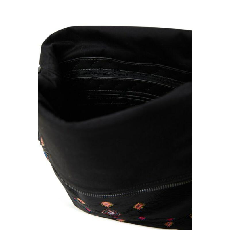 Desigual női divat hátizsák, Back July Tribu Nerano, fekete