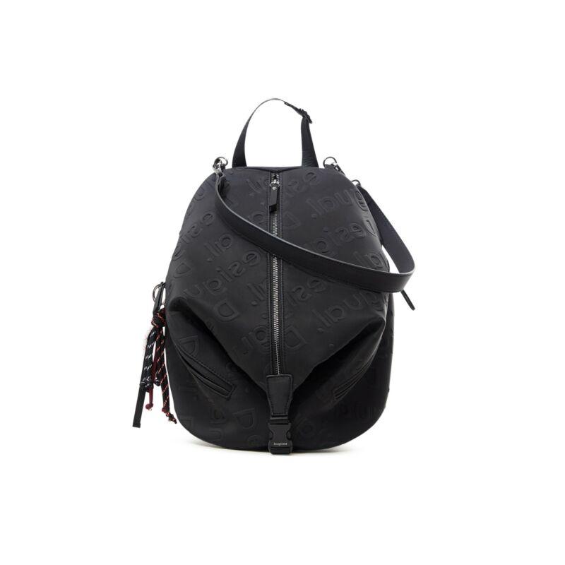 Desigual női divat hátizsák, Back Galia Viana Mini, fekete