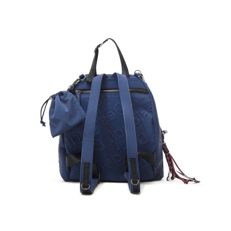 Desigual női divat hátizsák, Back Galia Viana Mini, sötétkék