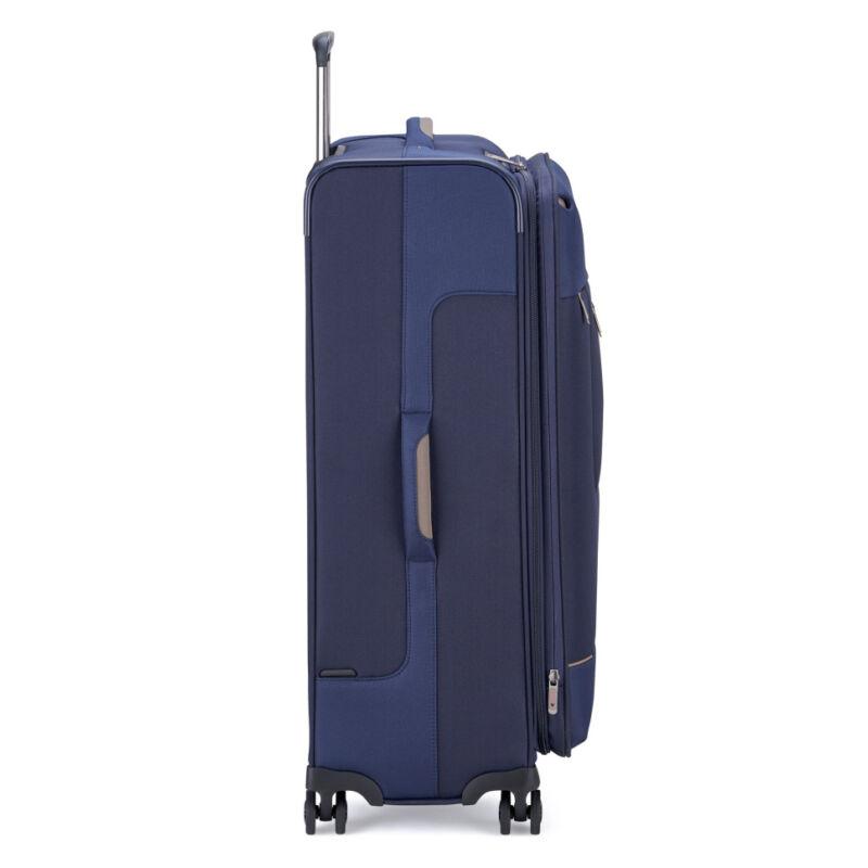 Roncato SIDETRACK 4-kerekes bővíthető bőrönd L, kék