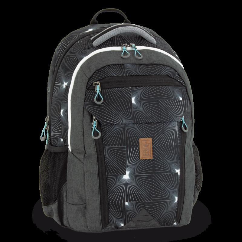 Ars Una ergonomikus hátizsák, AU-27 szürke